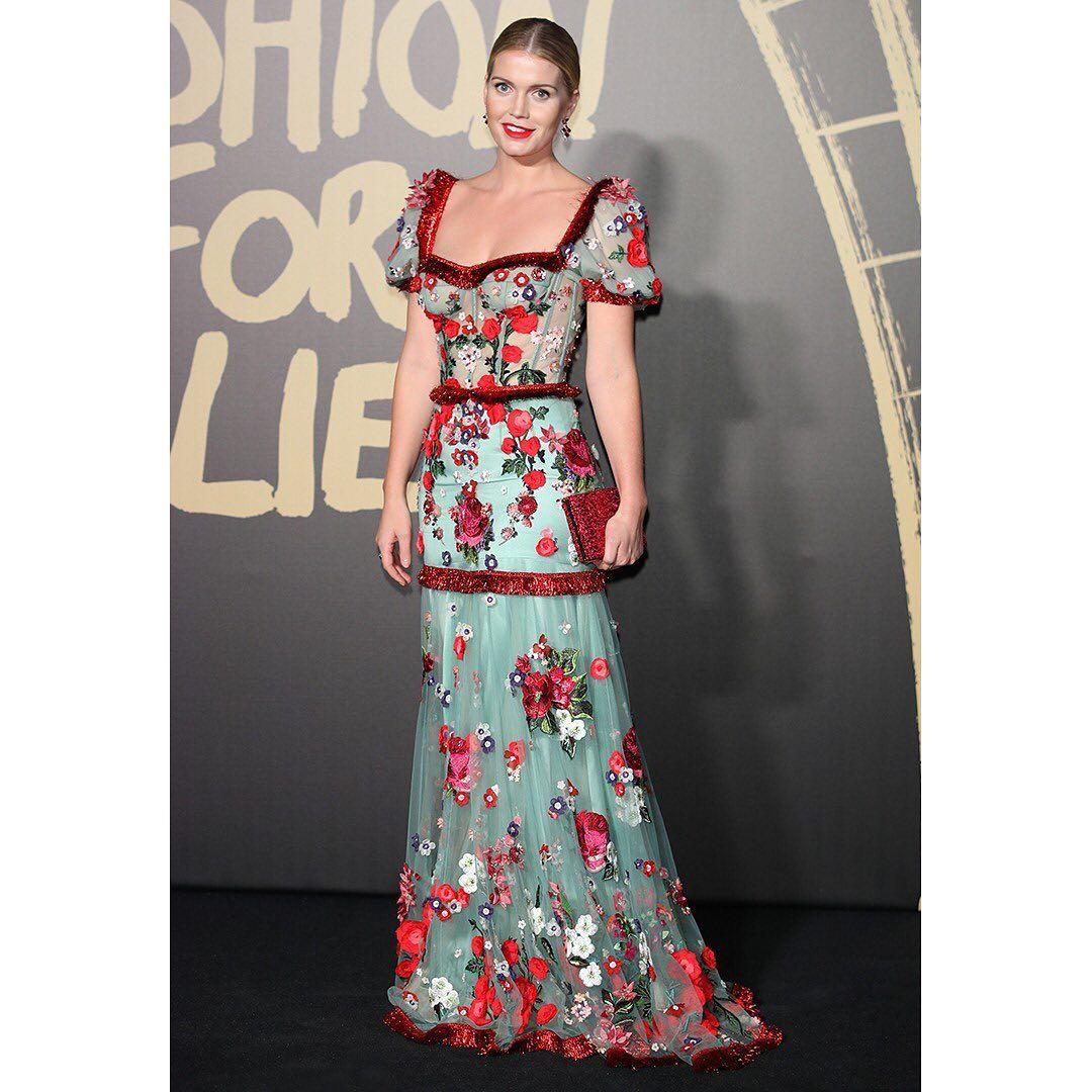 "Dolce & Gabbana On Instagram: ""Lady Kitty Spencer Wears"