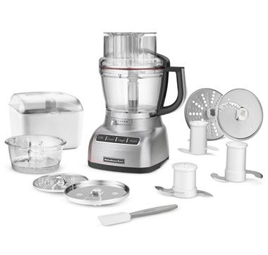 KitchenAid 13 Cup Food Processor with Bonus Accessory Pack and $50 ...
