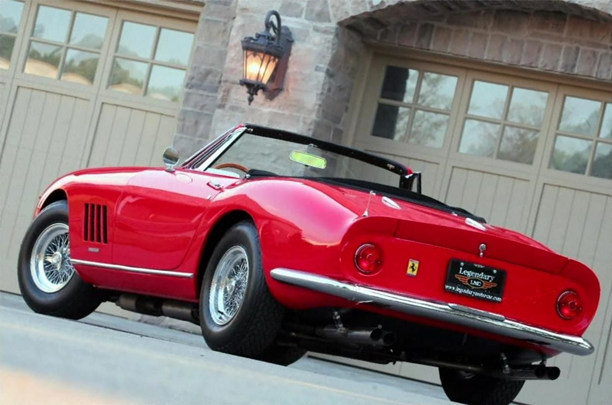 Explore Vintage Cars, Ferrari, And More!