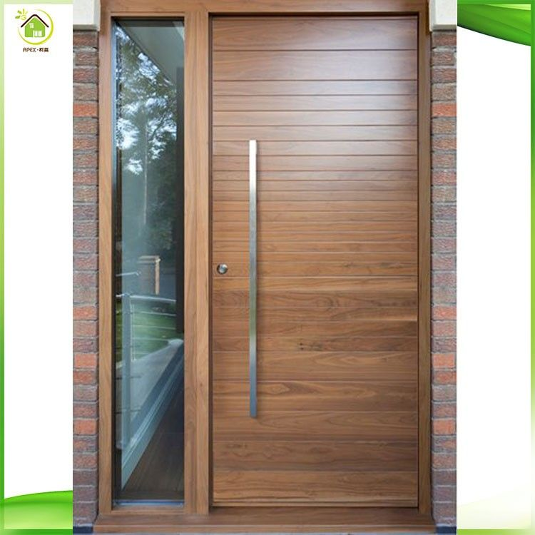 Modern Plain Solid Wood Main Door 100 Solid Oak Wood Door Models Contemporary Front Doors Front Doors Uk Wood Doors Interior