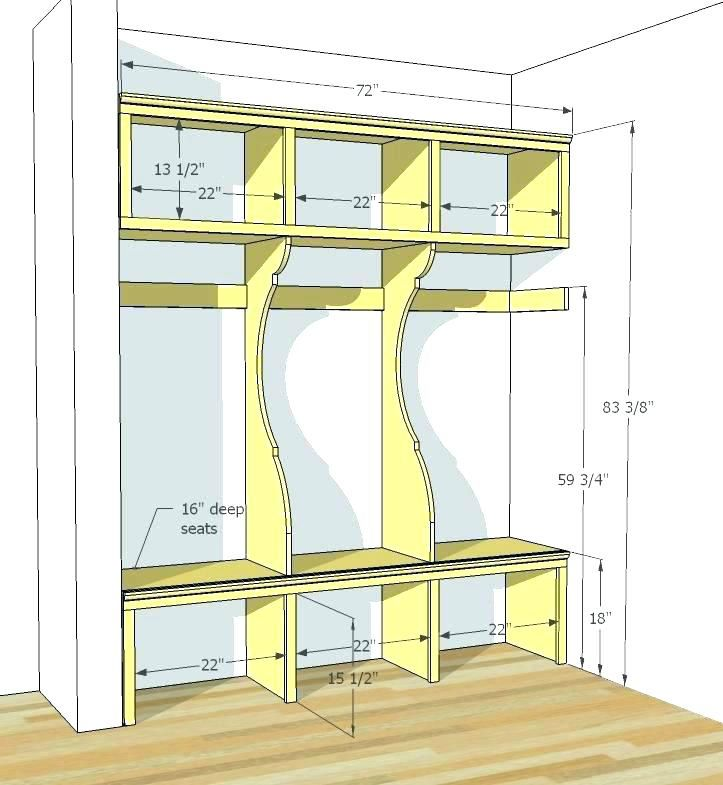 Mudroom Bench Seat Depth Large Size Of Height Best For And Mudroom Makeover Home Home Diy