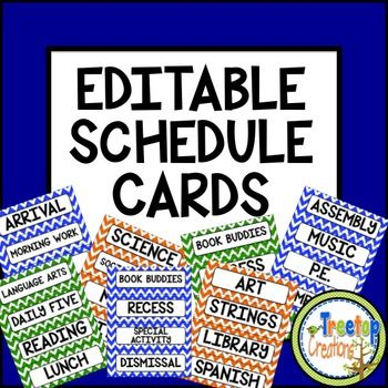 Editable Schedule Cards Chevron Schedule cards - 2 X 4 Label Template 10 Per Sheet