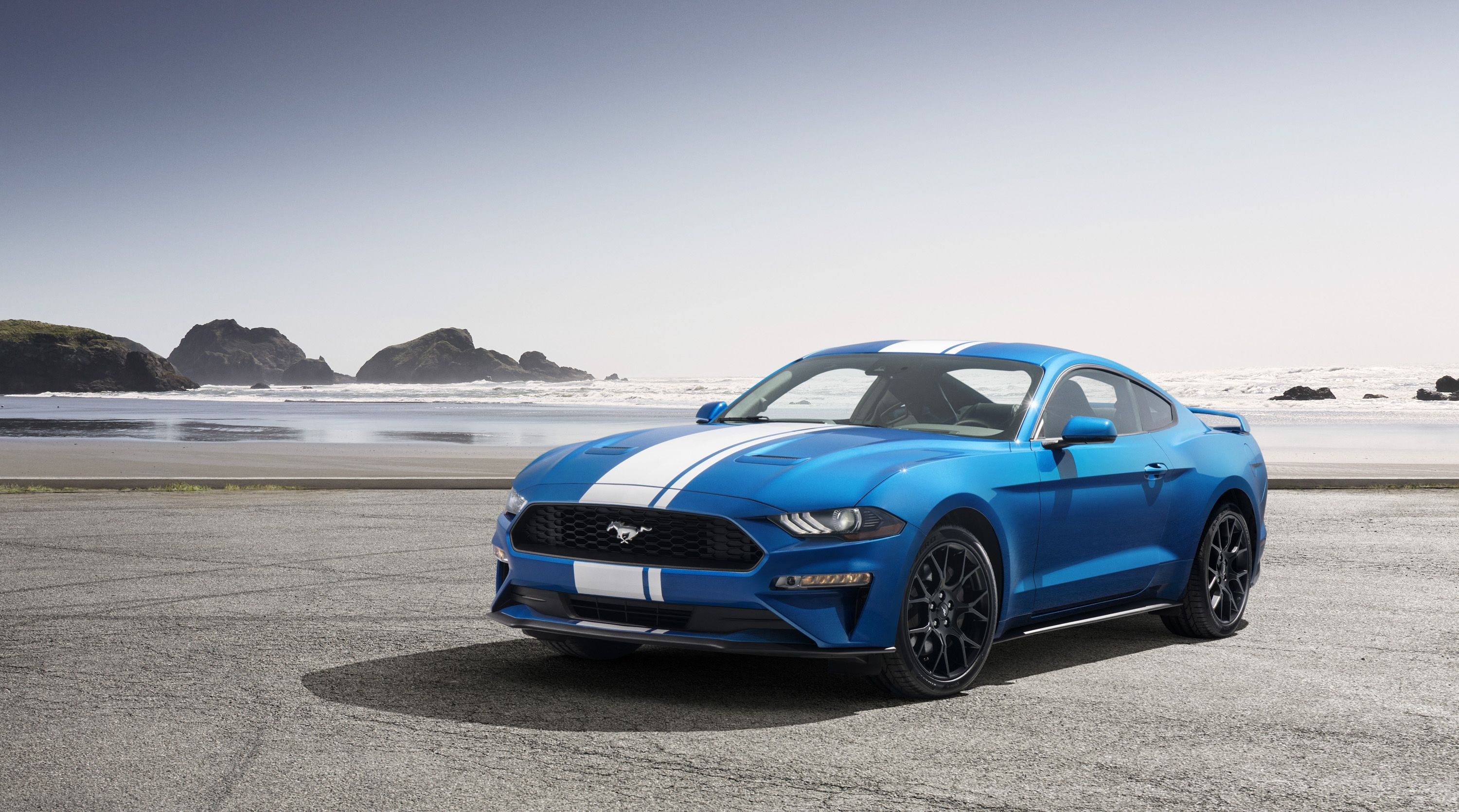 The Ford Mustang Ecoboost Sounds As Mean As The Shelby Gt350 With