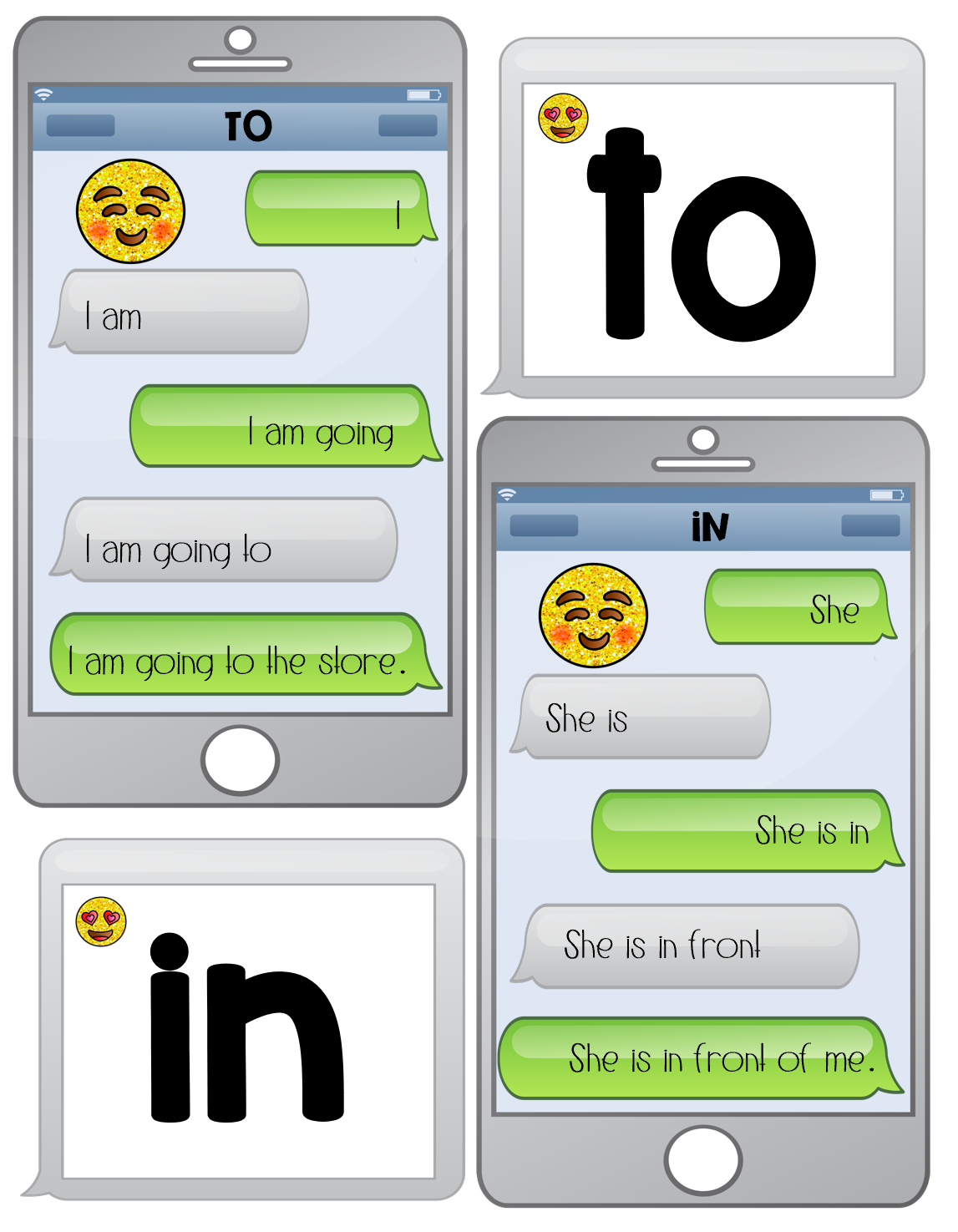Fluency Text Messages 1 50 Fry Words