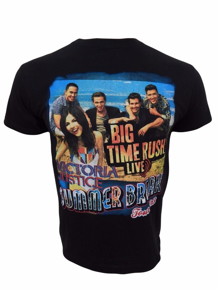 Big Time Rush Live 2013 Concert Tour T-Shirt Youth Size L Summer Break  #Anvil #Everyday
