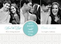 """""""Always & Forever"""" photo Save the Date from Kleinfeld Paper. Customize yours with Paper Passionista."""
