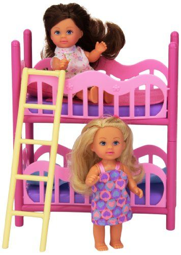 Evi Love 2 In 1 Bunk Bed With 2 Dolls Bedding Mommy Me Doll