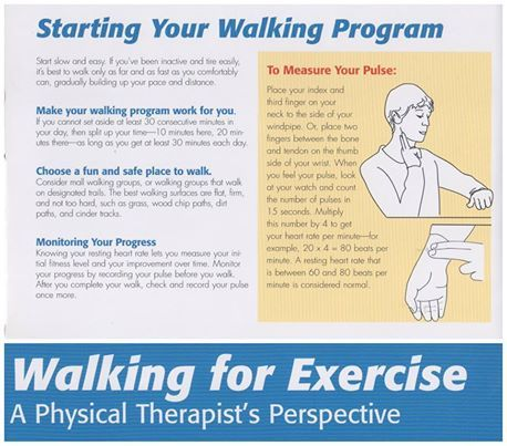 Now's a great time of year to begin a walking program. Here are some tips to help you get started.