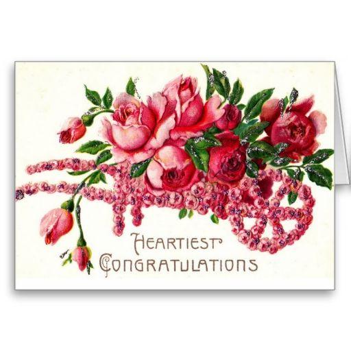Heartiest Congratulations Card | Zazzle com