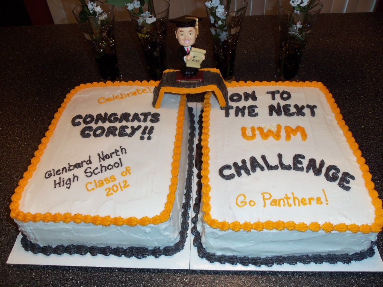 Graduation Cake High School College Custom I Can Customize This To