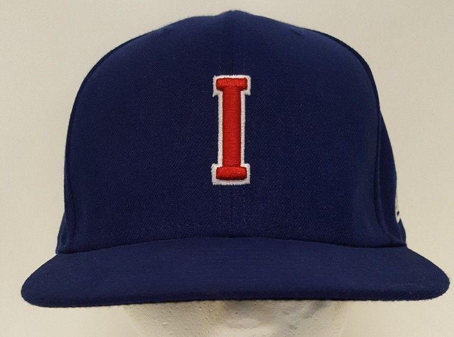 09b938a7 Iowa Cubs I Minor League Baseball New Era Snapback Hat Rare Blue Red White  Ball #NewEra #BaseballCap