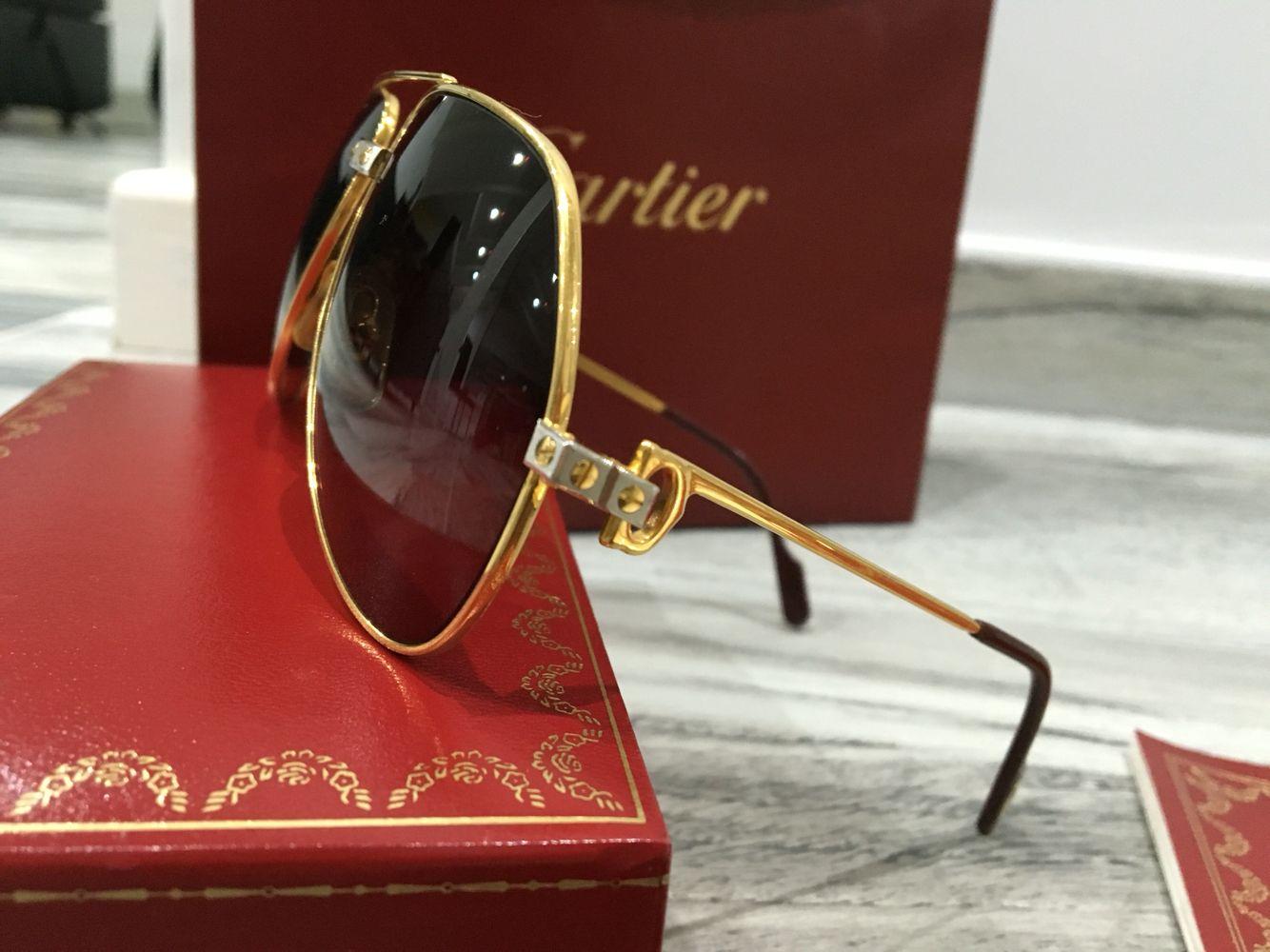 919e70f8ffb Must de Cartier Santos Vendome occhiali taglie 59-14 e 62 14 corredo  completo