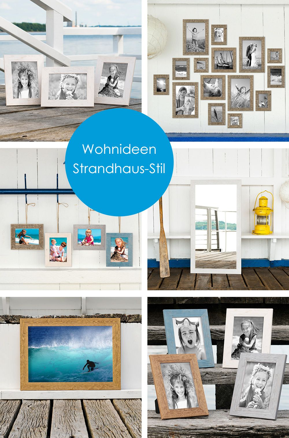 Sechs schöne Wohnideen in Treibholz-Optik. Hol dir den maritimen ...