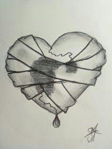 Pin de ♕️melissa💕 ♕️ℒℴѵℯ💕 en Broken heart | Pinterest