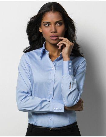 Pextex.cz - Dámská košile s dlouhým rukávem Corporate Oxford Kustom ... 3485106579
