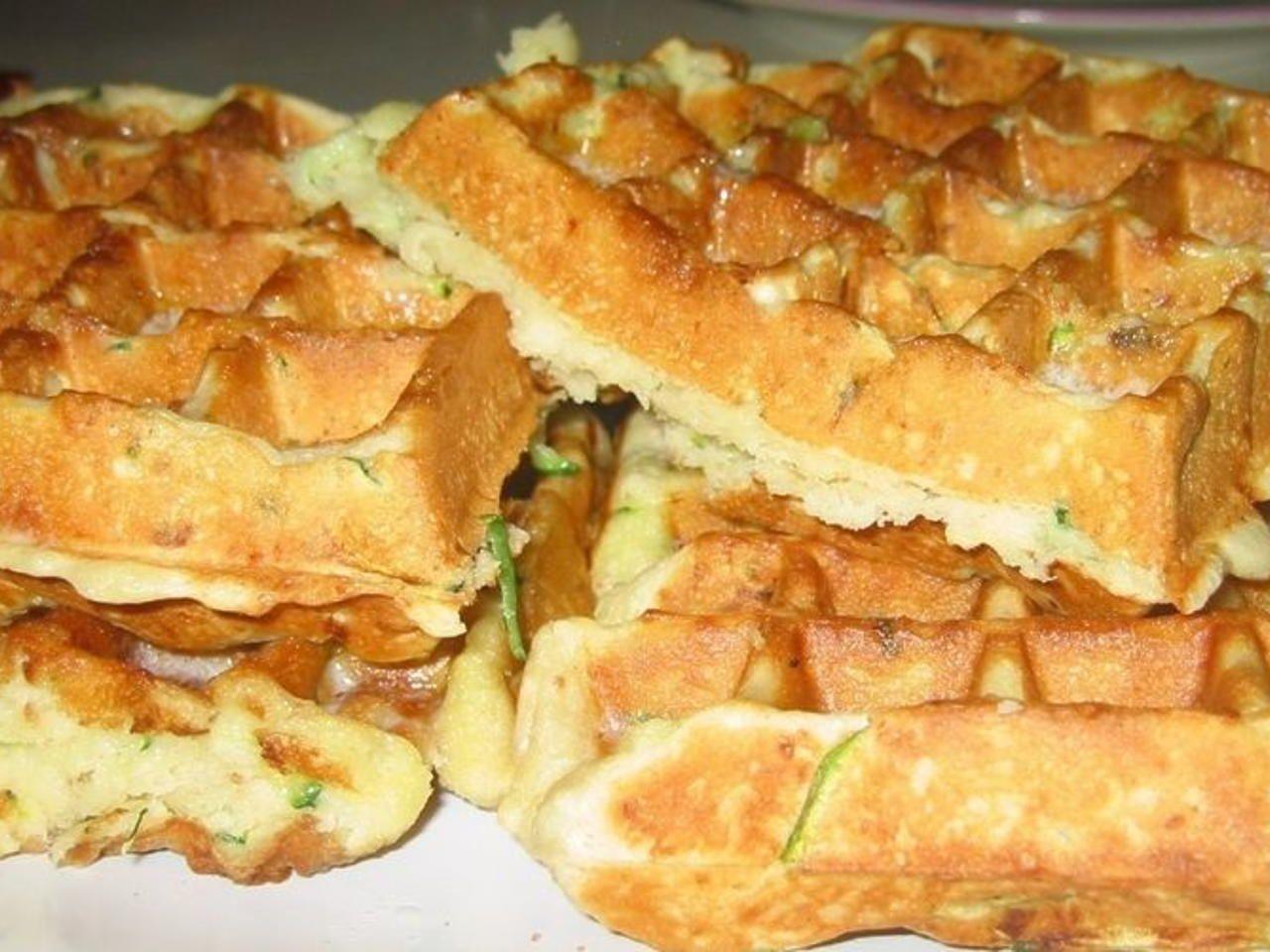 buttermilk zucchini bread belgian waffles  recipe