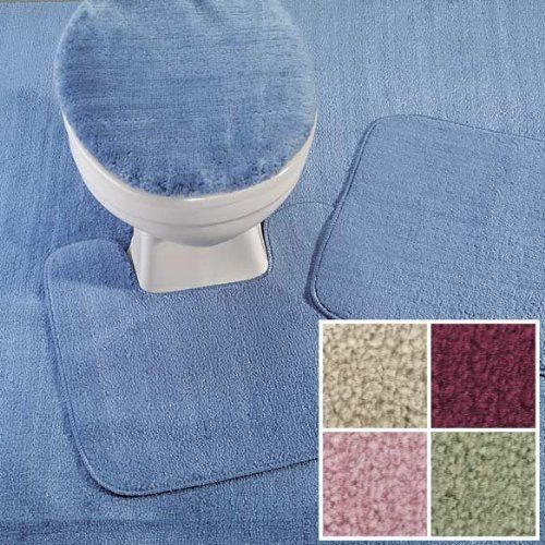 Bathroom Rugs Ideas Madison Industries Reflections Wall To Carpeting 5 X 8 Cut Fit Blue Read More Reviews Of The Product By Visiting