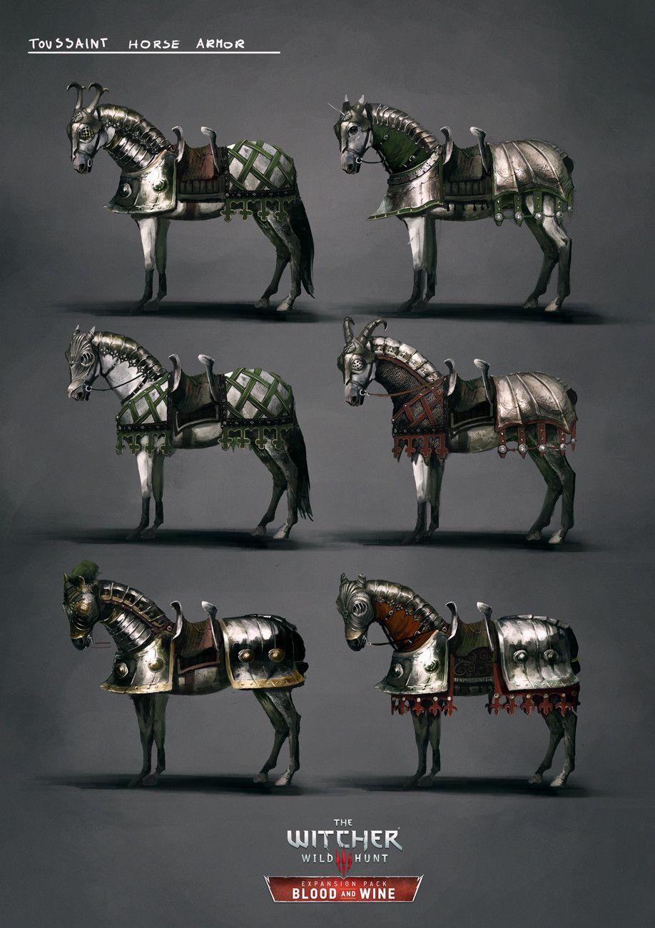 Toussaint Horse Armor Set, Marta Dettlaff on ArtStation at https ...