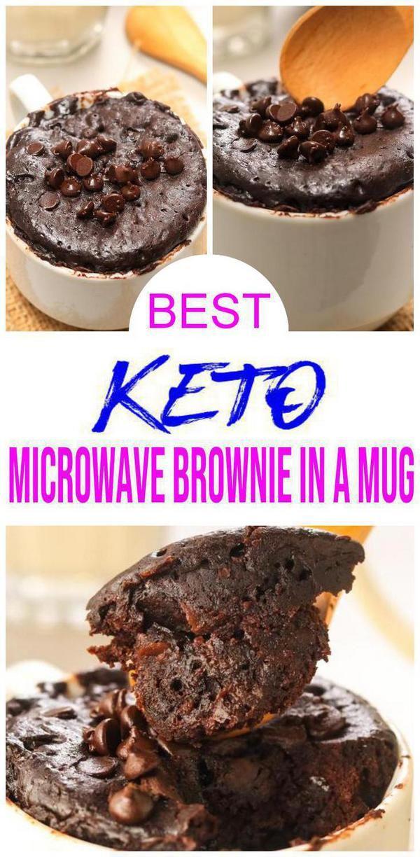 Keto Mug Cake Brownie