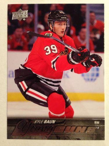 RT https://t.co/D3FwzKNenO #NHL 2015-16 UD UPPER DECK YOUNG GUNS KYLE BAUN #Rookie CARD CHICAGO #Blackhawks  https://t.co/eb7KZGa52S