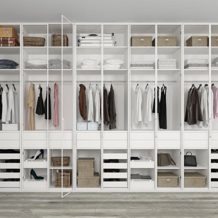 Closet Organizer With Opal Doors Closet Storage Systems Sliding Wardrobe Doors Wardrobe Doors