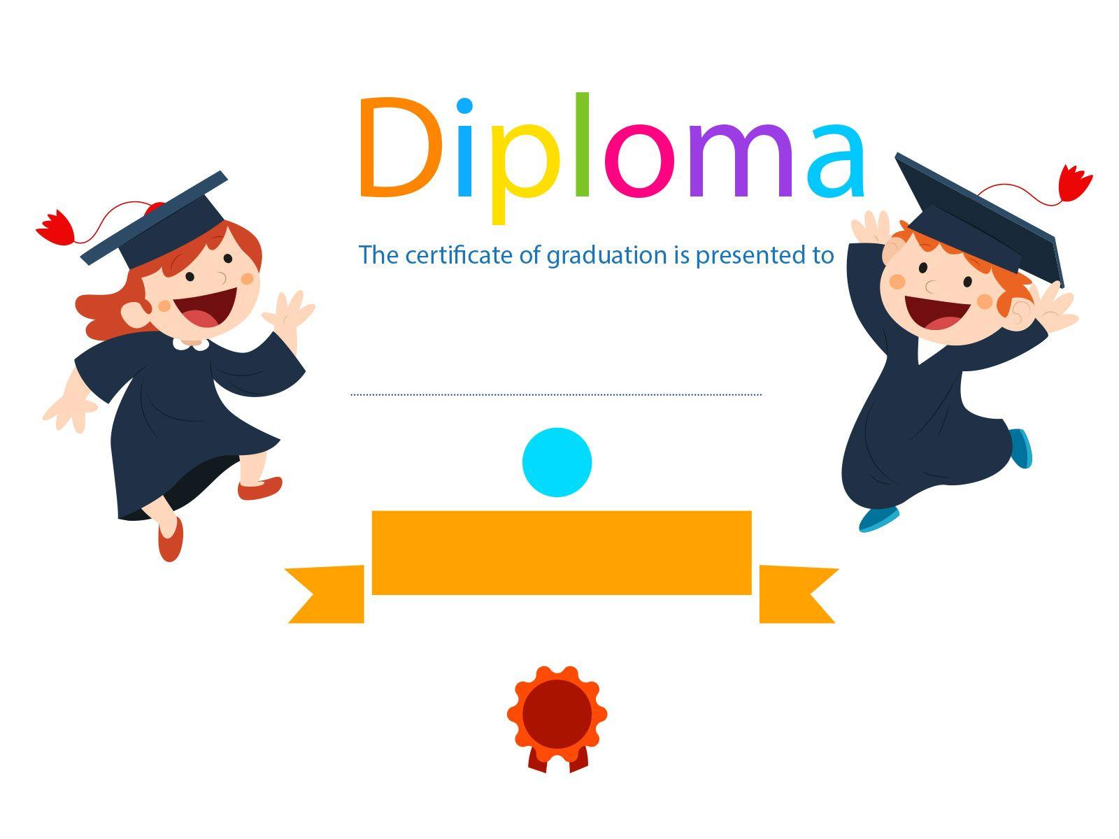 Kids Graduation Background