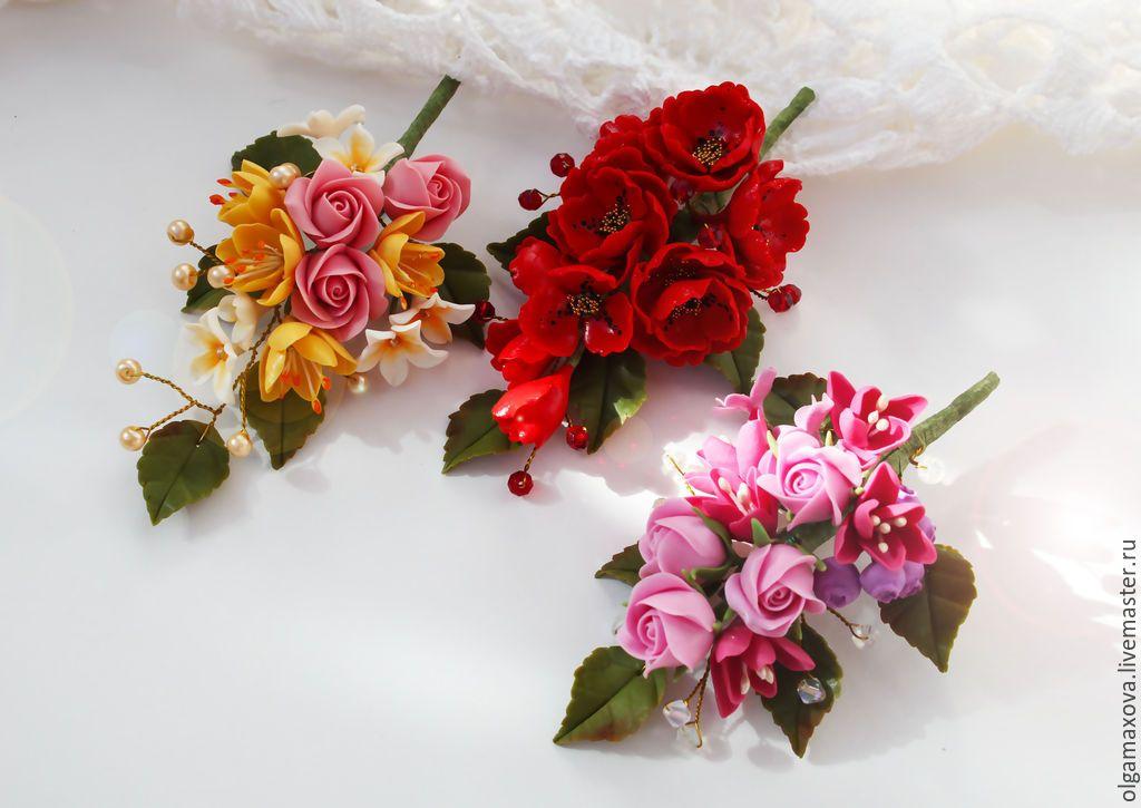 Купить через интернет магазин цветы и ягоды из полимерной глины заказ семян цветов почтой