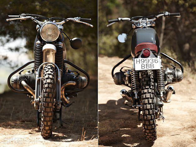 Retro Scrambler A Vintage Bmw R75 5 From Spain Bike Bmw Bmw