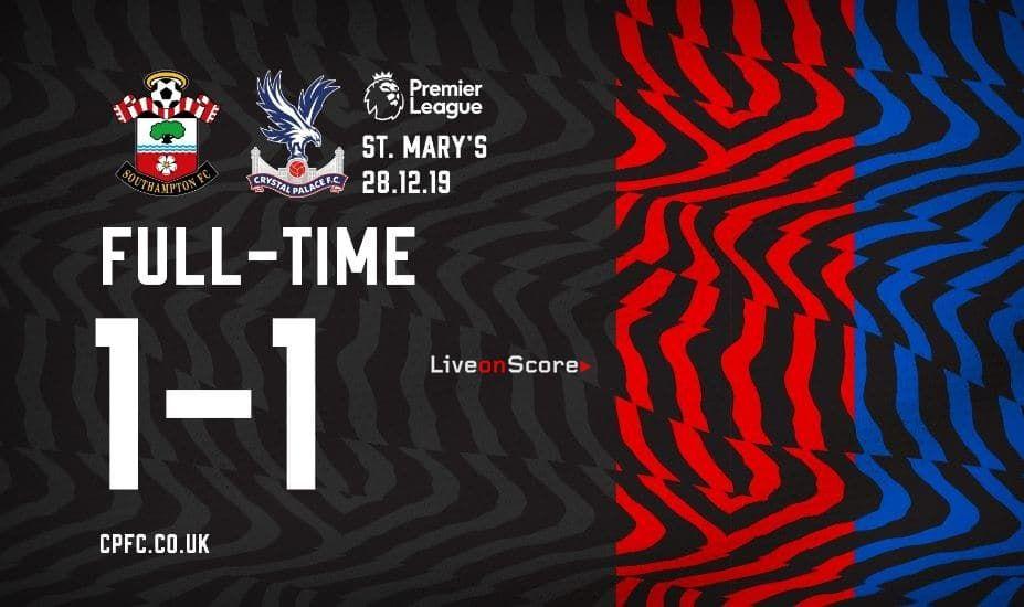 Southampton 1 1 Crystal Palace Full Highlight Video Premier