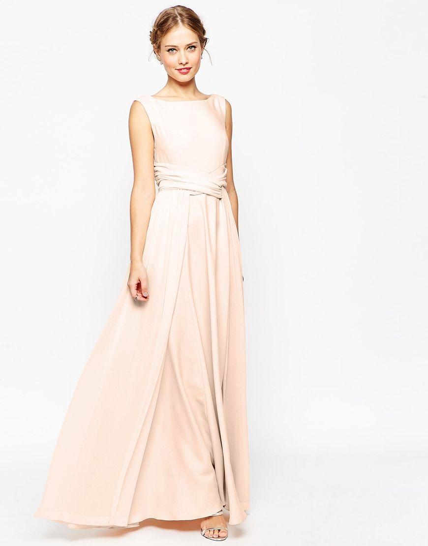 Trending Image of ASOS WEDDING Soft Maxi Prom Dress