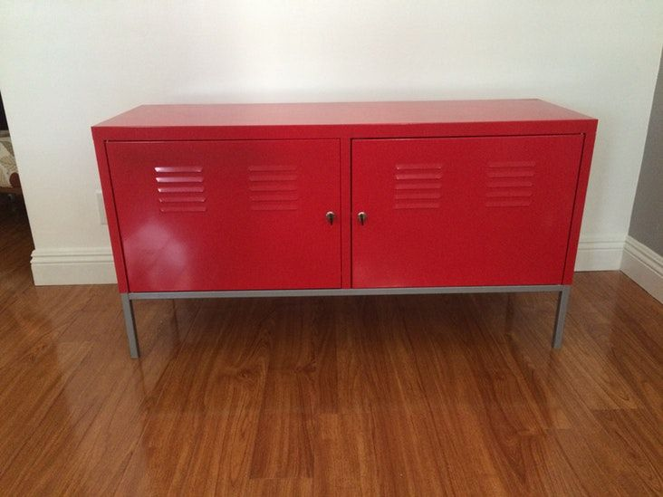 Ikea Red Credenza : Ikea ps cabinet red inspirational revivals credenza misc