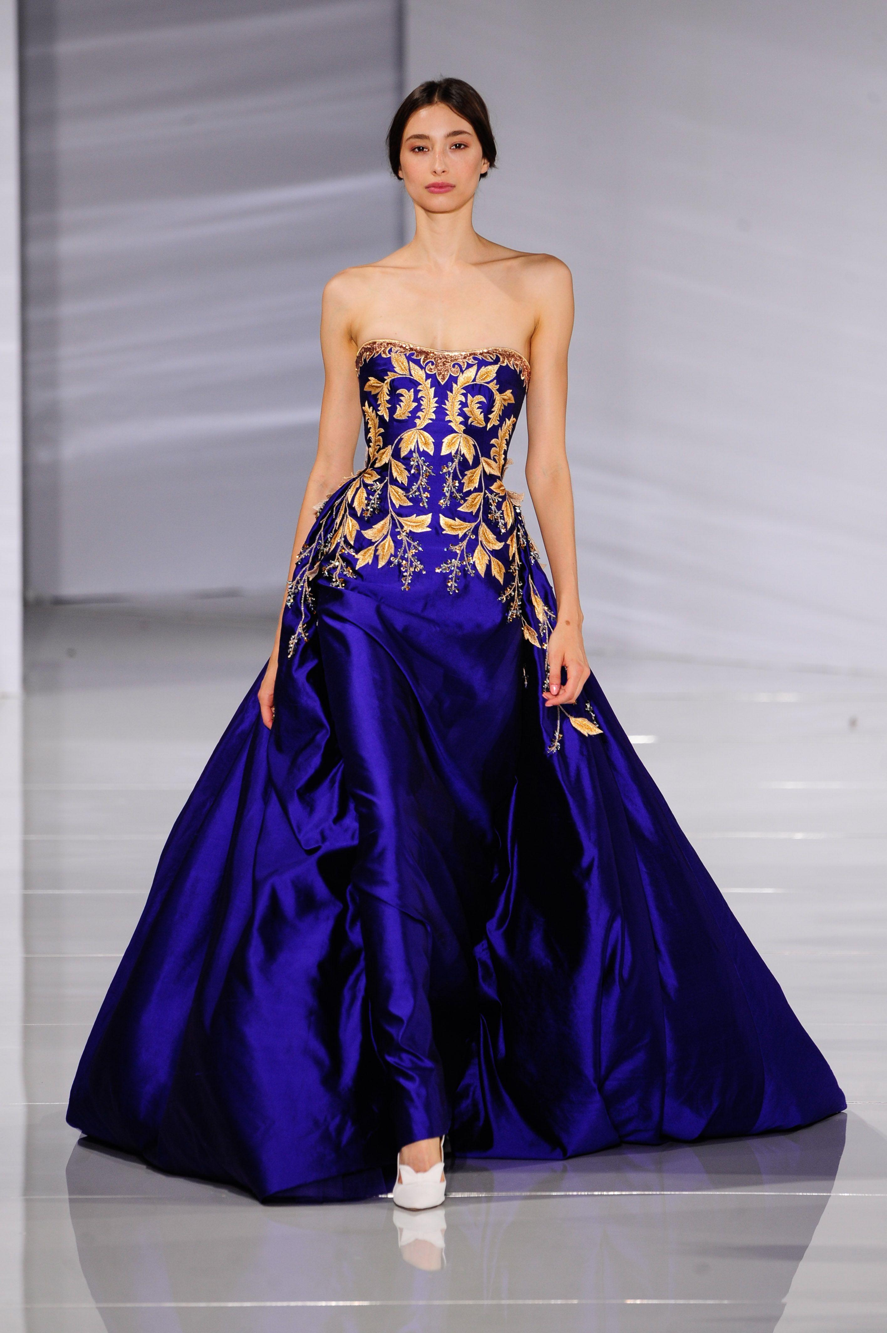 d1885746e65 Le défilé Hobeika AH 2015-2016 et ses splendides robes des mille et une  nuits