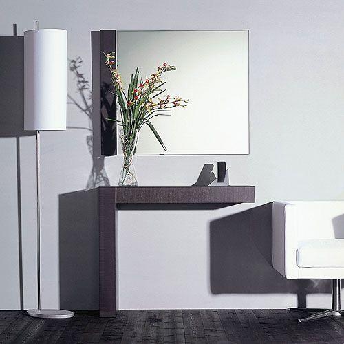 espejos recibidores modernos