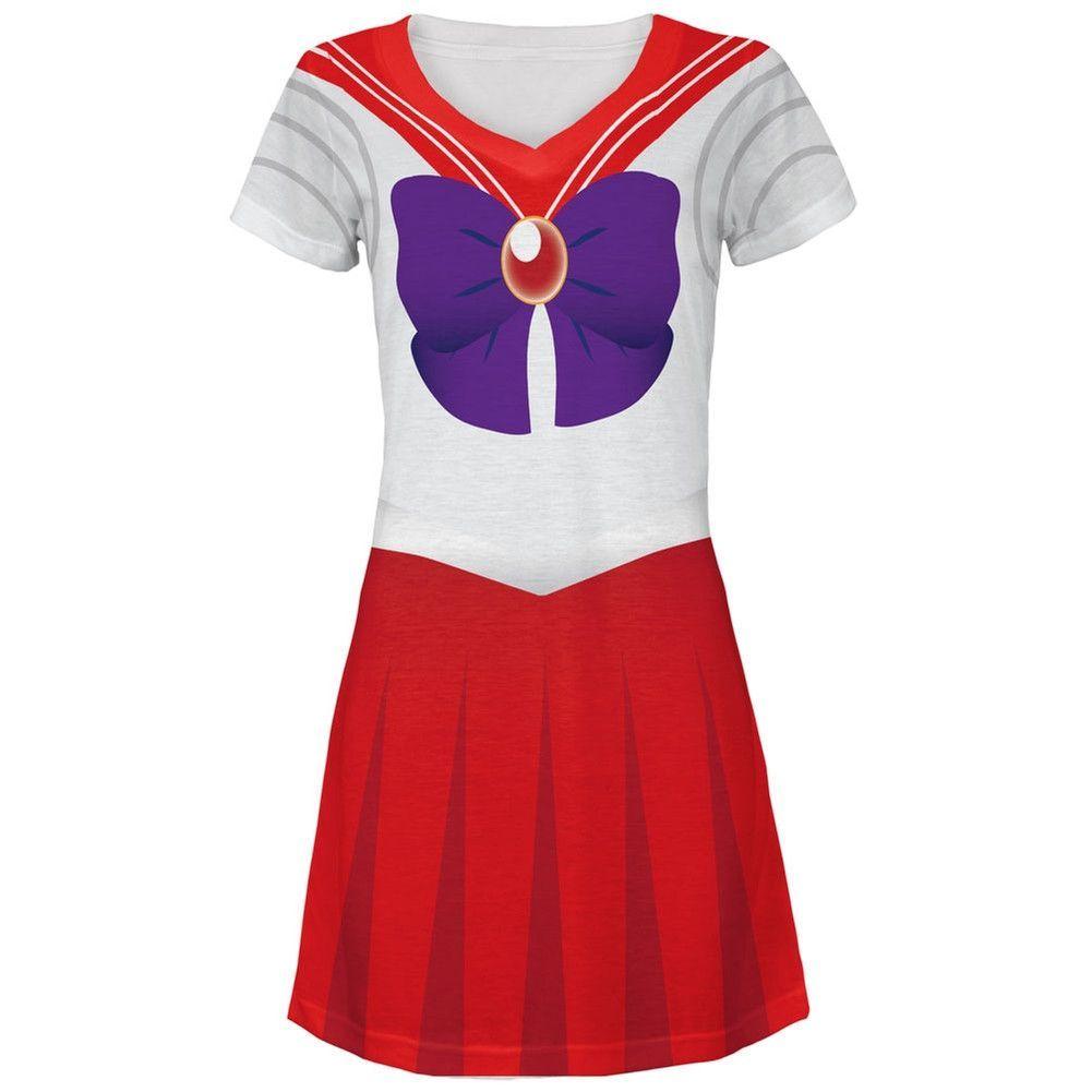 Moon All Over Juniors V-Neck Dress