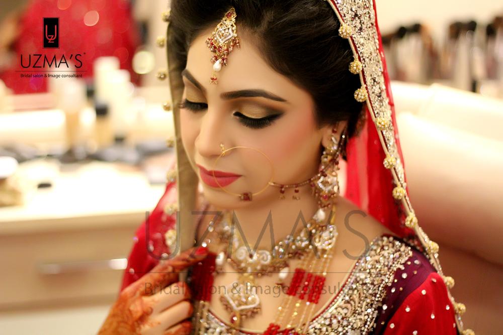 Uzma S Mehndi Makeup : Rukhsati bride makeup by uzma s beauty salon bridal