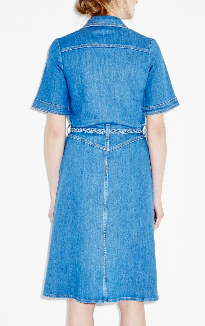 70s Denim Dress
