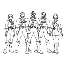 Top 25 Free Printable Mighty Morphin