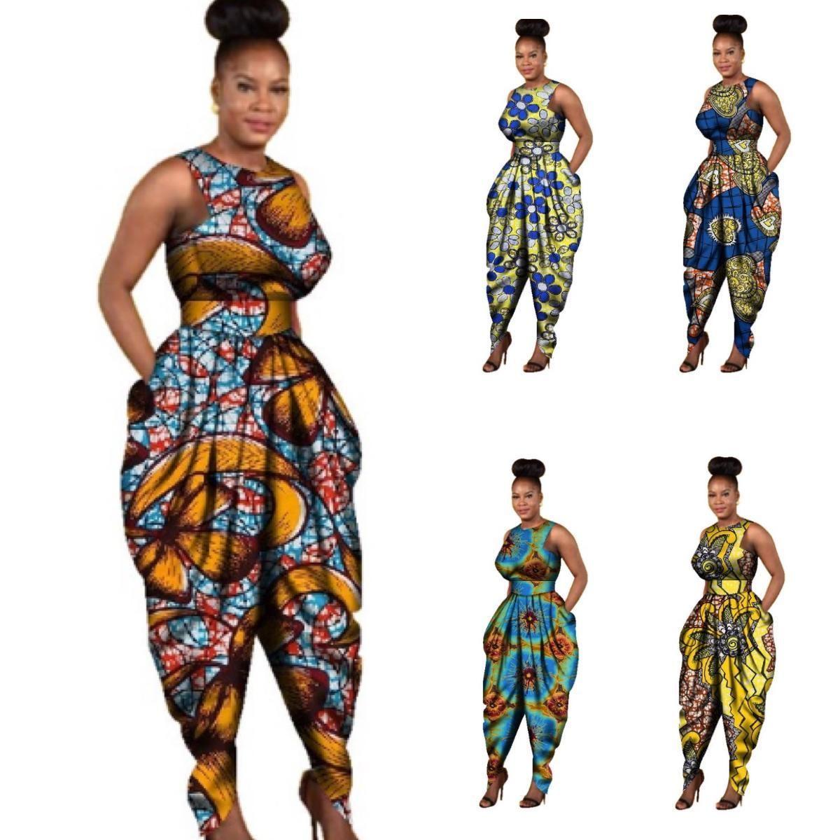 Hurrg Mens Fashion Buttons Long Sleeve African Print Dashiki Shirts