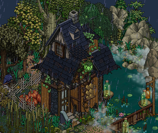 Witch's cottage in the woods by Cutiezor on DeviantArt #witchcottage
