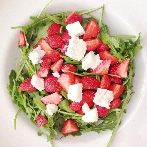 Imagem de healthy, food, and salad