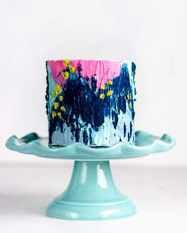 Five Tips for Painting with Buttercream | Baking Butterly Love