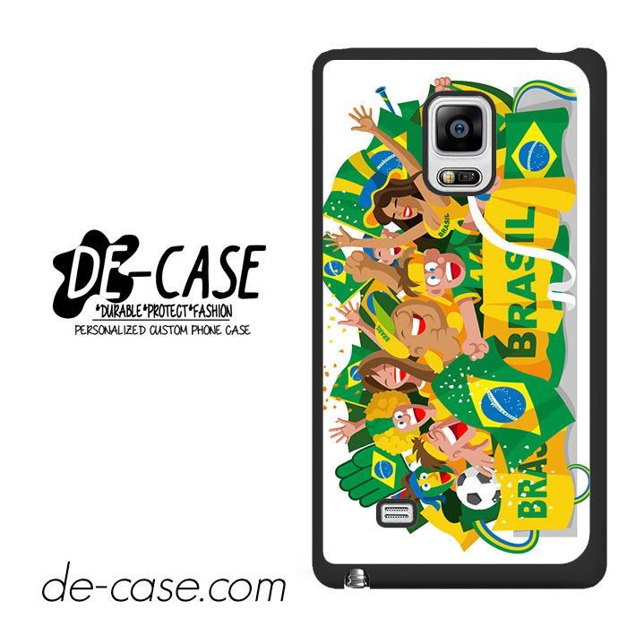 Brasil Football Fanatic Supporter DEAL-2070 Samsung Phonecase Cover For Samsung Galaxy Note Edge