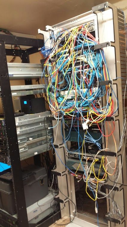 before miguel rodriguez from google this is an actual telecom rh pinterest com Spaghetti Dinner Cable Mess