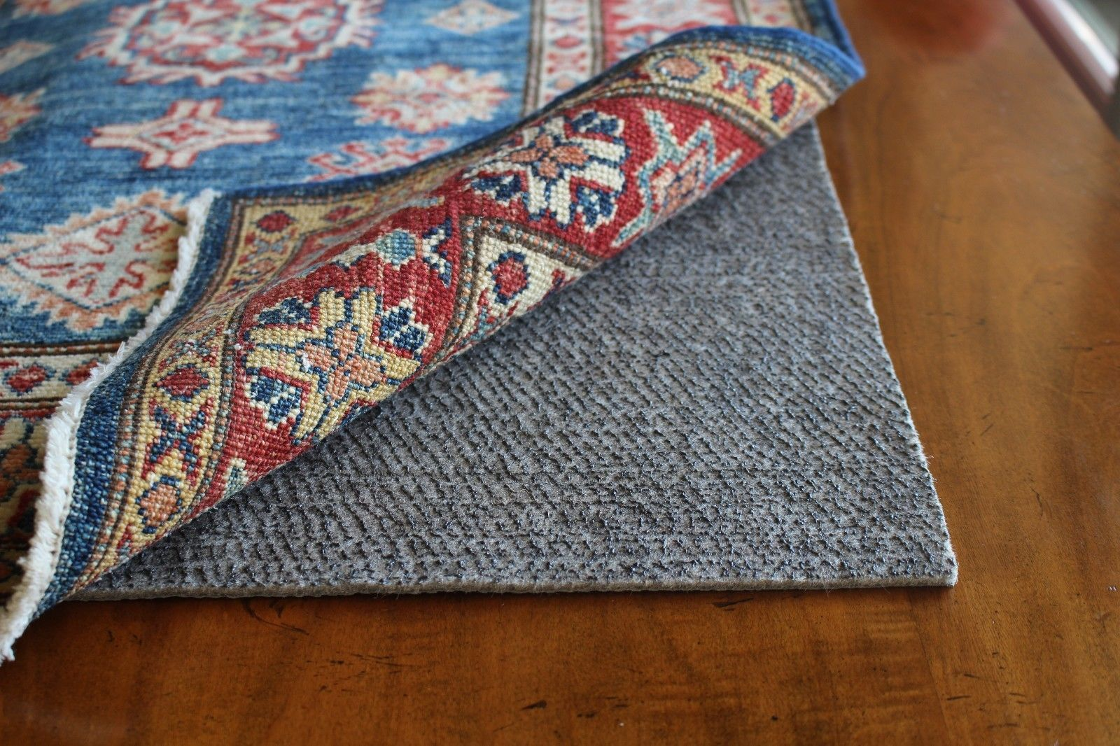 14 95 Rubber And Felt Rug Pads Non Slip Padding Non Skid For Area Rugs 1 8 Rug Pad Ebay Home Garden