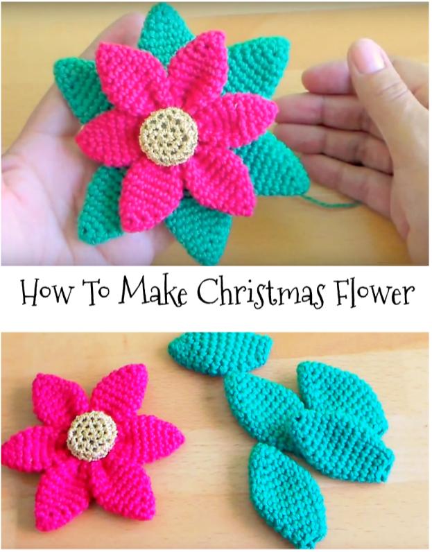 Christmas Flower | FLORI CROCHET | Pinterest | Patrones amigurumi ...