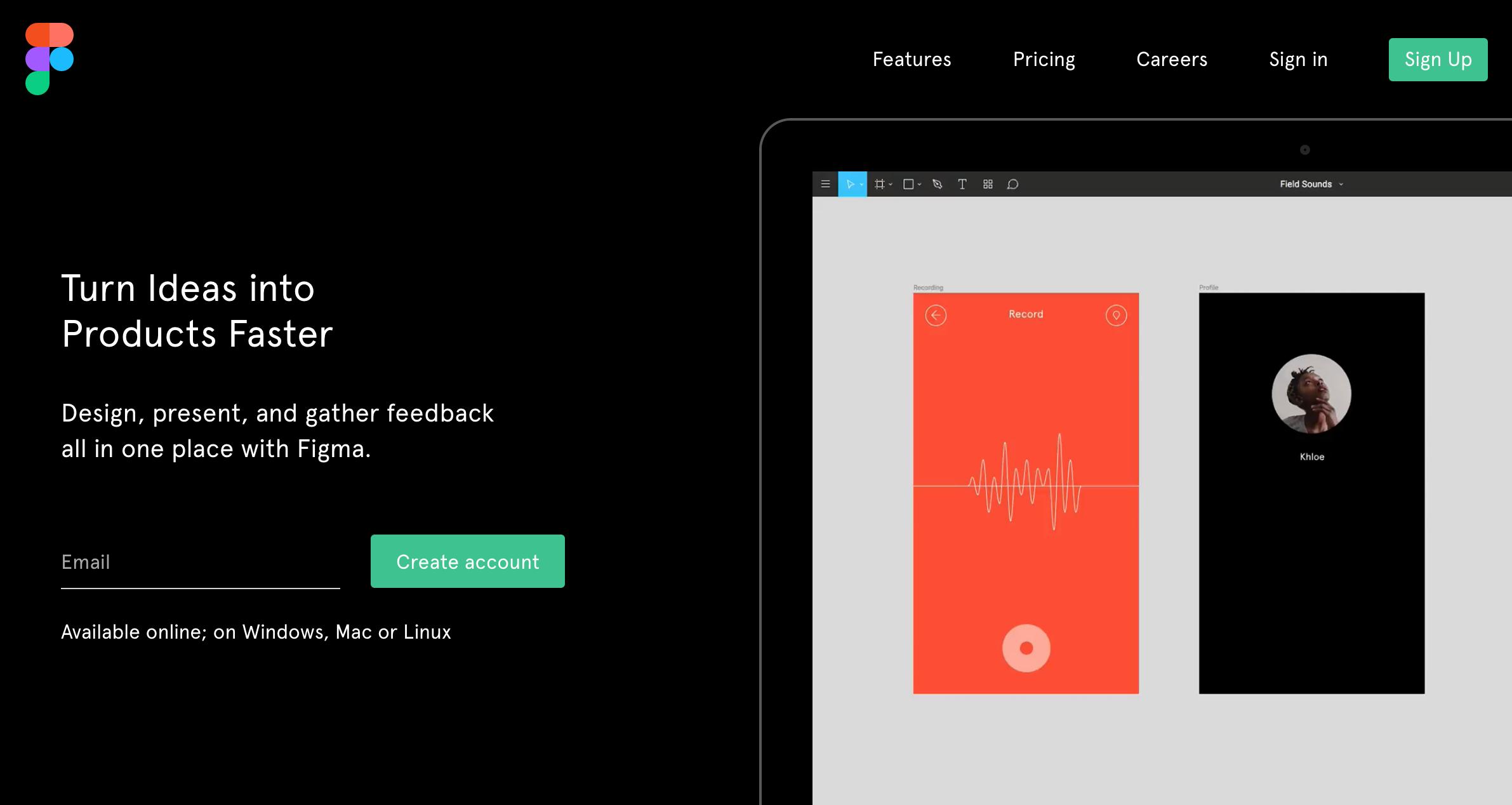 figma the collaborative interface design tool - Ui Designer Tools