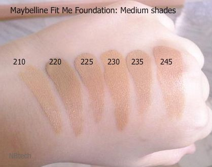 Maybelline Fit Me Foundation (renamed to Fit Me! Dewy + Smooth) reviews, photos, ingredients - Makeupalley