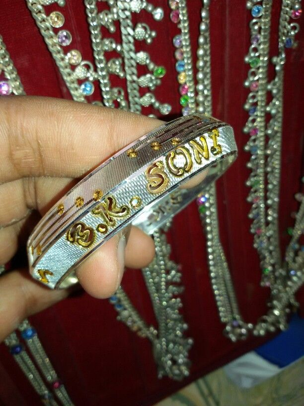 Name Kada Weight 40gm Gold Bangles Vintage Jewelry Gold Jewelry