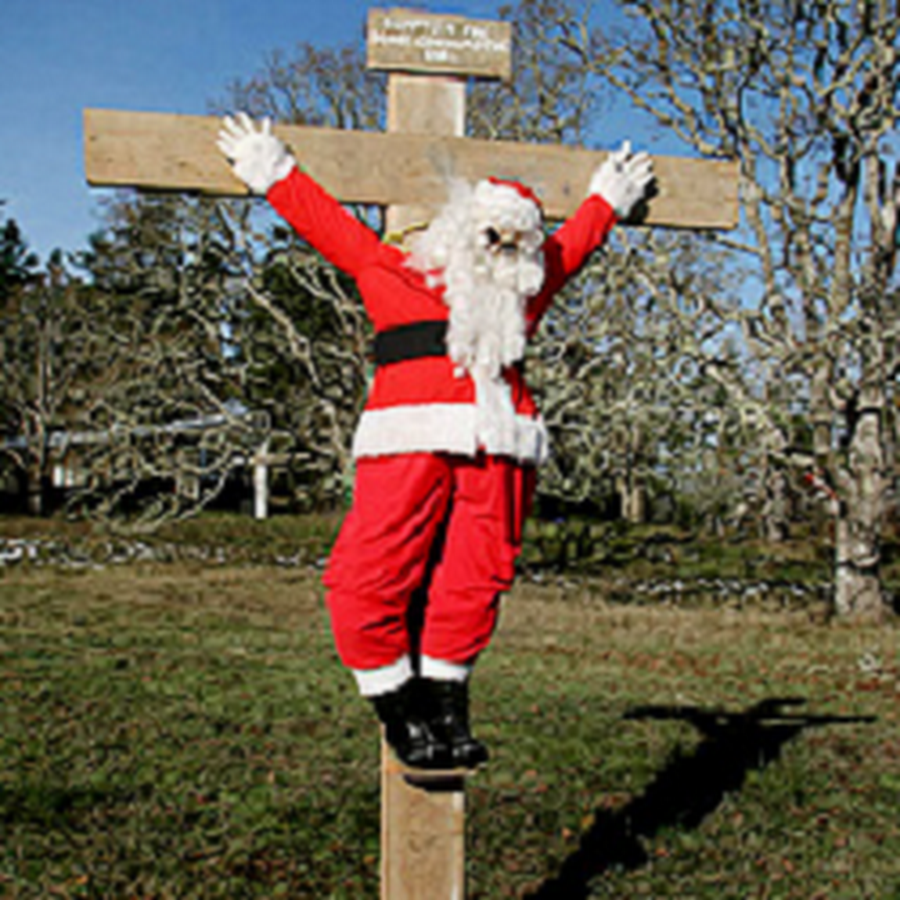 While Chistmas Is All About Birth Don T Forget That Santa Died For Your Sins Santa Little Boy And Girl Christmas Projects