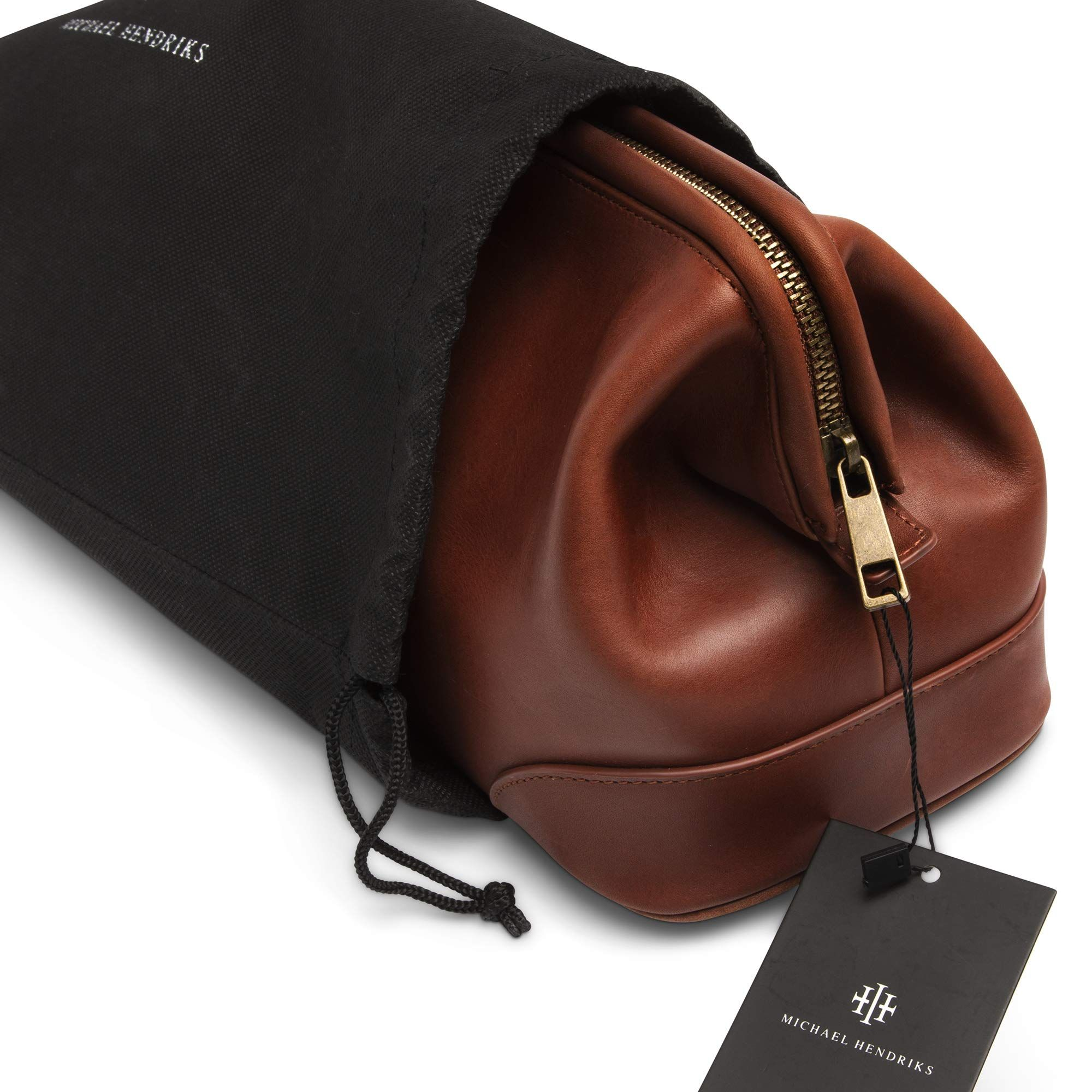 1bdb1183f1ad Men's Toiletry Wash Bag? ?Brown Leather ? ?Travel Dopp Kit Bags for ...
